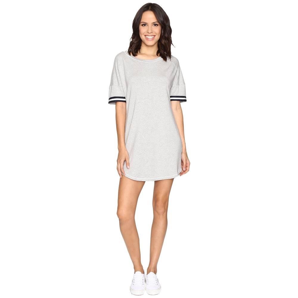 スプレンディッド レディース ワンピース・ドレス ワンピース【Stripe Sleeve Dress】Heather Grey