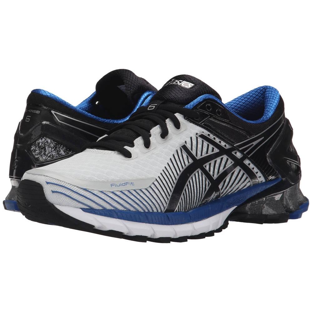 アシックス メンズ ランニング・ウォーキング シューズ・靴【GEL-Kinsei 6】Silver/Black/Blue