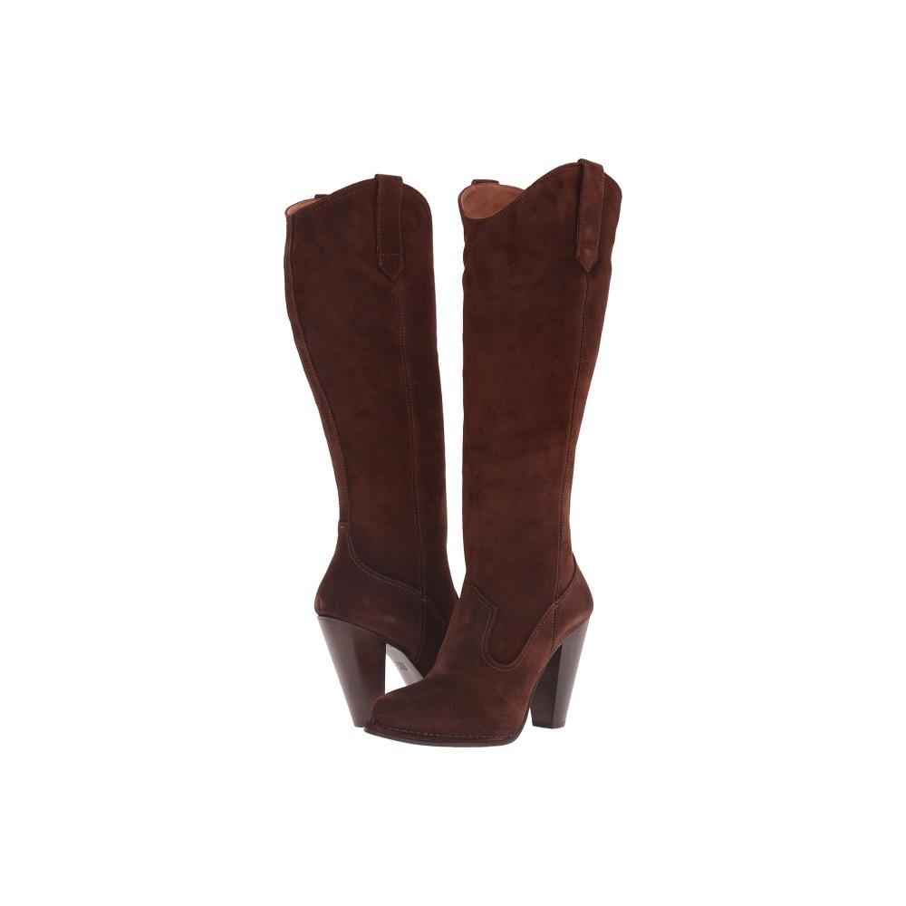 フライ レディース シューズ・靴 ブーツ【Madeline Tall】Brown Oiled Suede