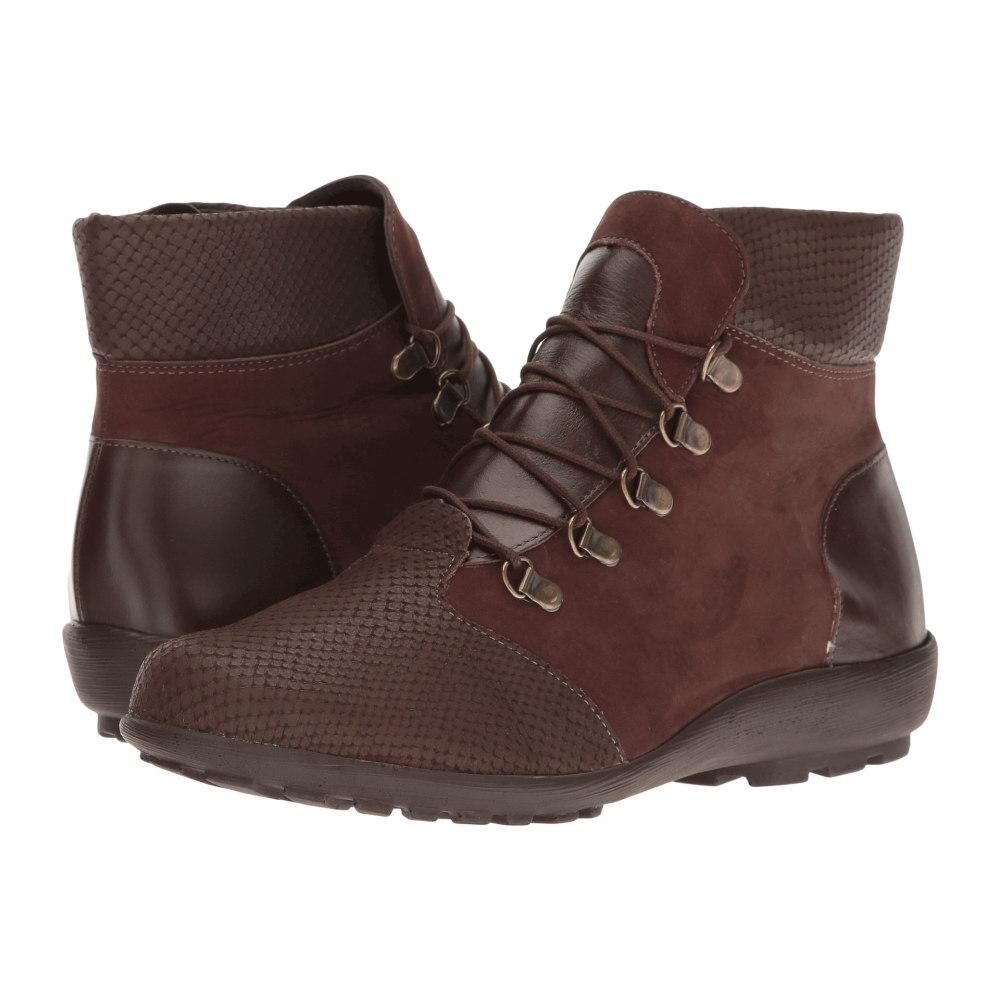 ウォーキング クレードル レディース シューズ・靴 ブーツ【Hemingway】Brown Textured Multi