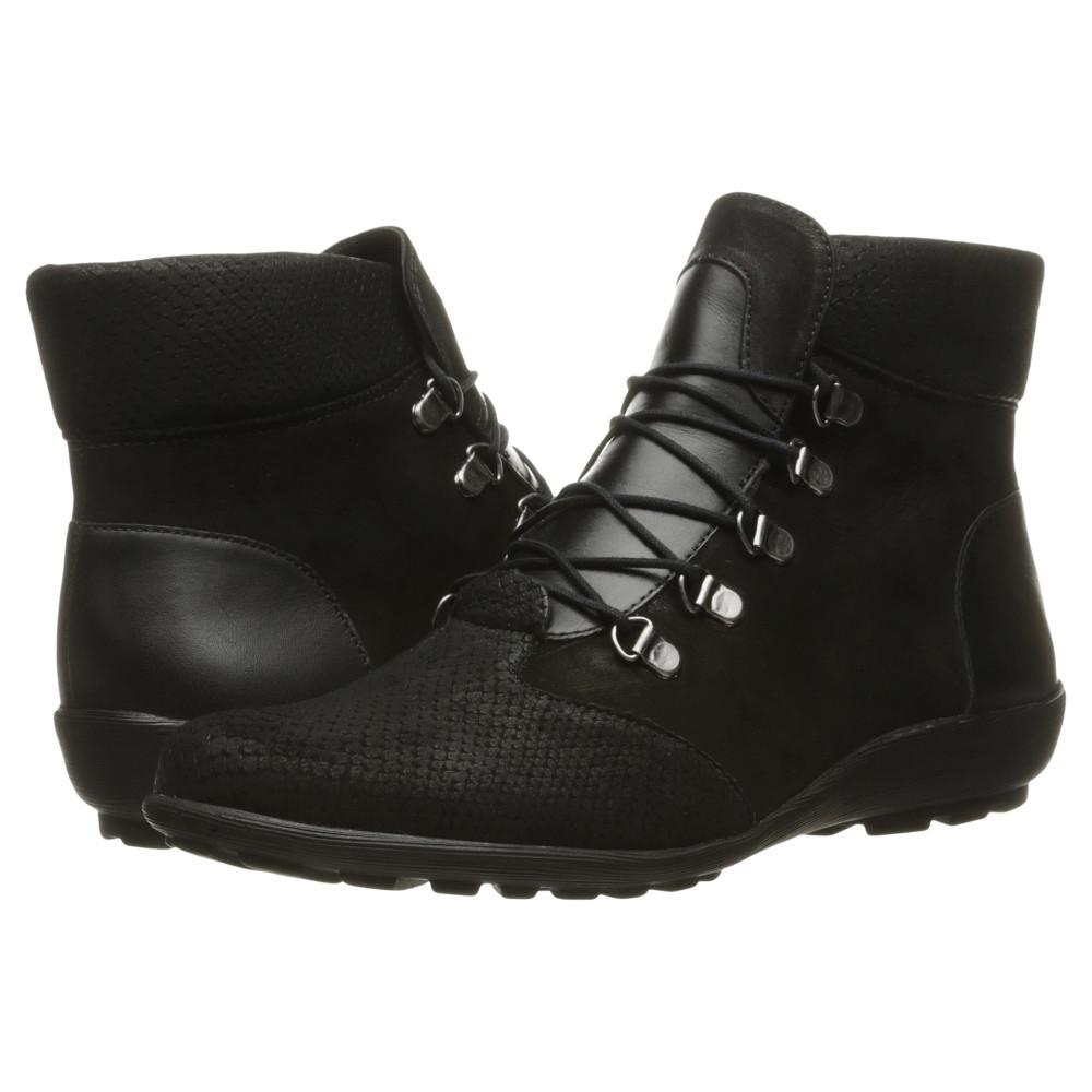 ウォーキング クレードル レディース シューズ・靴 ブーツ【Hemingway】Black Textured Multi