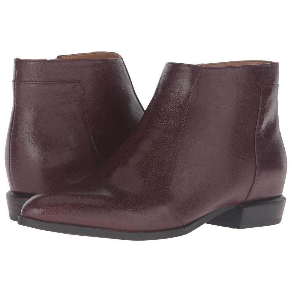 Leather Brown ブーツ【Doplar】Dark レディース シューズ・靴 ナインウェスト