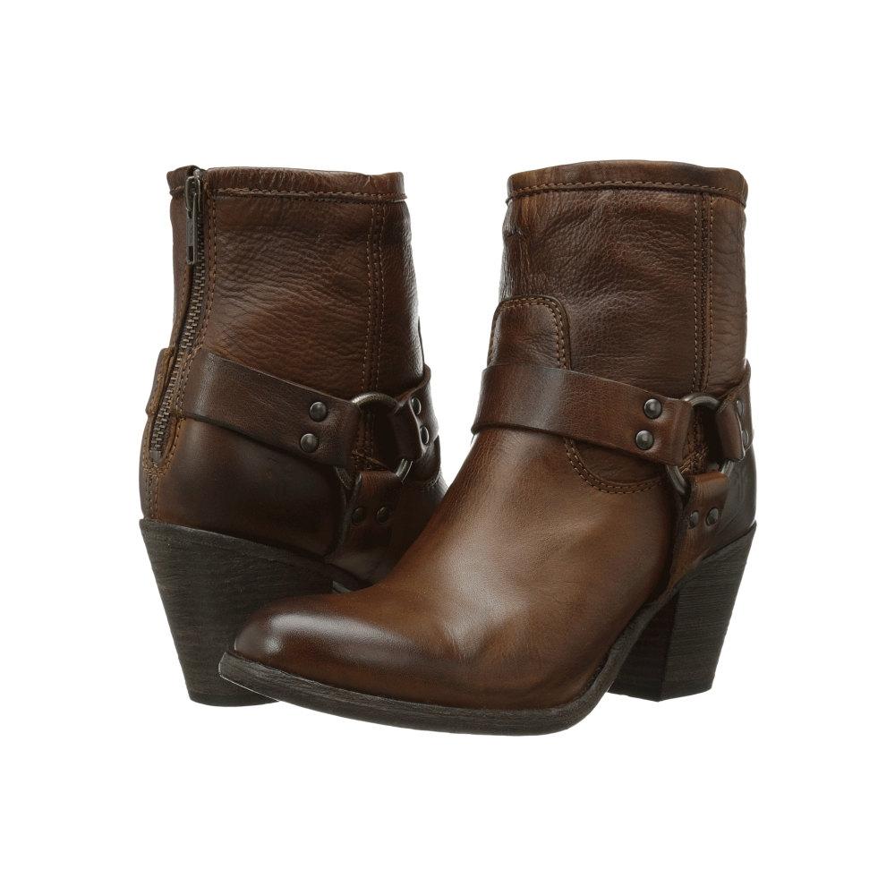 フライ レディース シューズ・靴 ブーツ【Tabitha Harness Short】Cognac Soft Vintage Leather