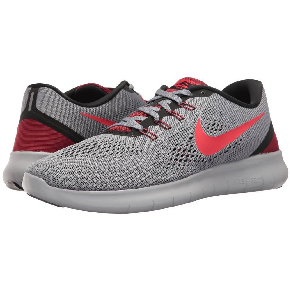 ナイキ メンズ ランニング・ウォーキング シューズ・靴【Free RN】Cool Grey/Action Red/Black