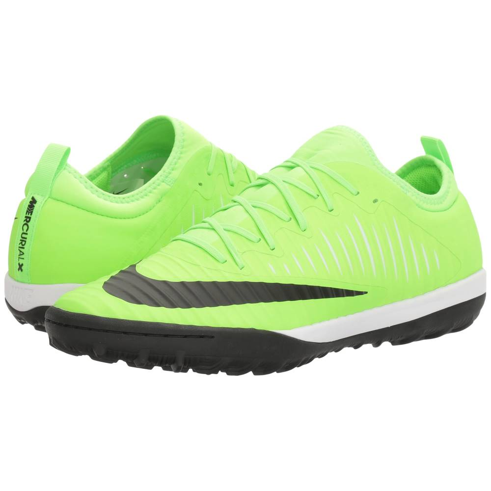 ナイキ メンズ サッカー シューズ・靴【MercurialX Finale II TF】Flash Lime/Black/White/Gum Light Brown