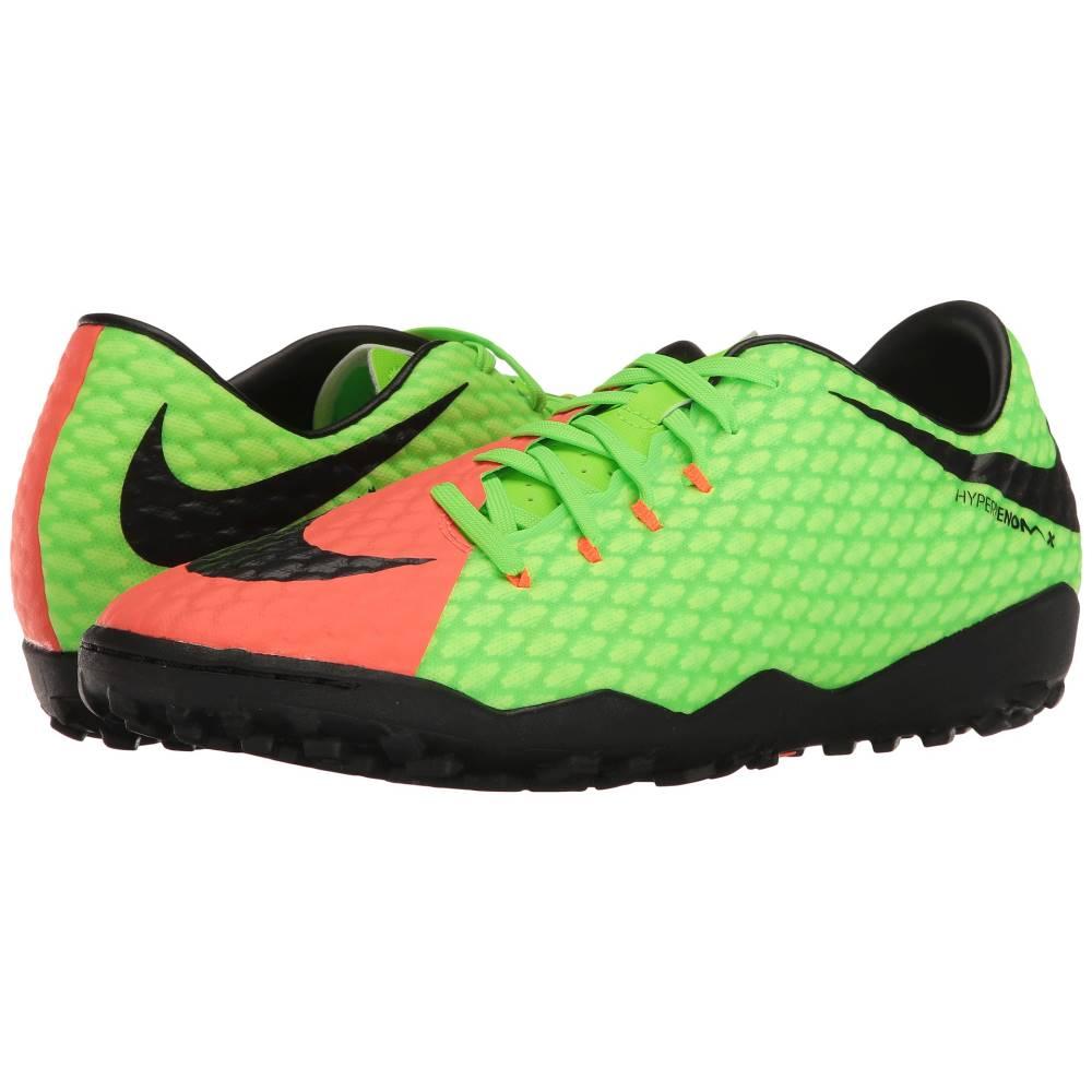 ナイキ メンズ サッカー シューズ・靴【Hypervenom Phelon III TF】Electric Green/Black/Hyper Orange/Volt