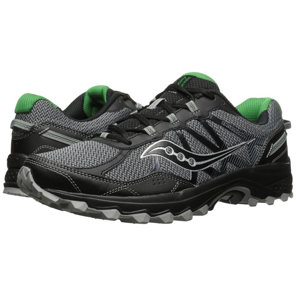 サッカニー メンズ ランニング・ウォーキング シューズ・靴【Excursion TR11】Grey/Black/Green