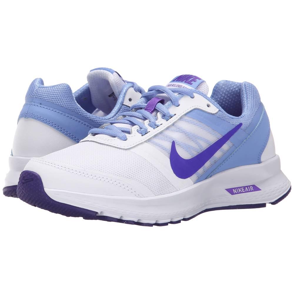 ナイキ レディース ランニング・ウォーキング シューズ・靴【Air Relentless 5】White/Chalk Blue/White/Fierce Purple