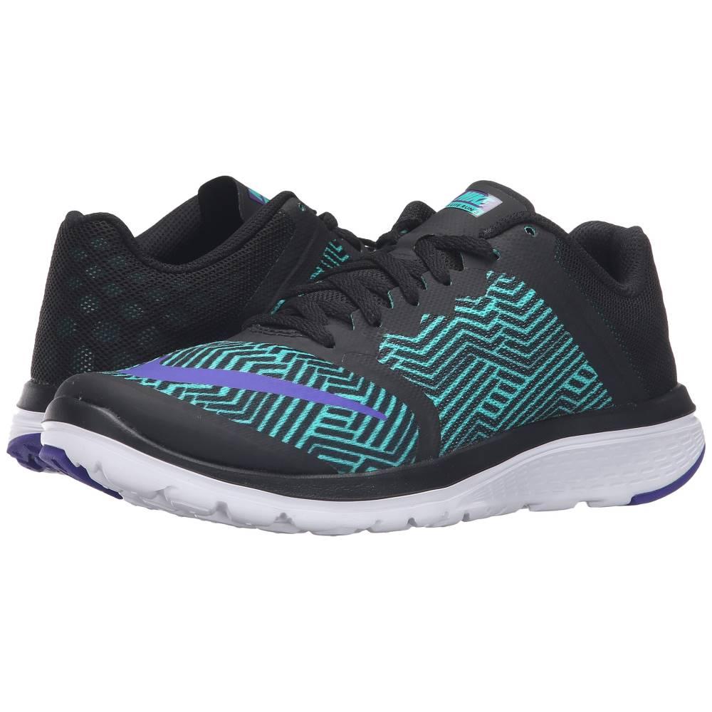 ナイキ レディース ランニング・ウォーキング シューズ・靴【FS Lite Run 3 Premium】Black/Fierce Purple/Clear Jade/White