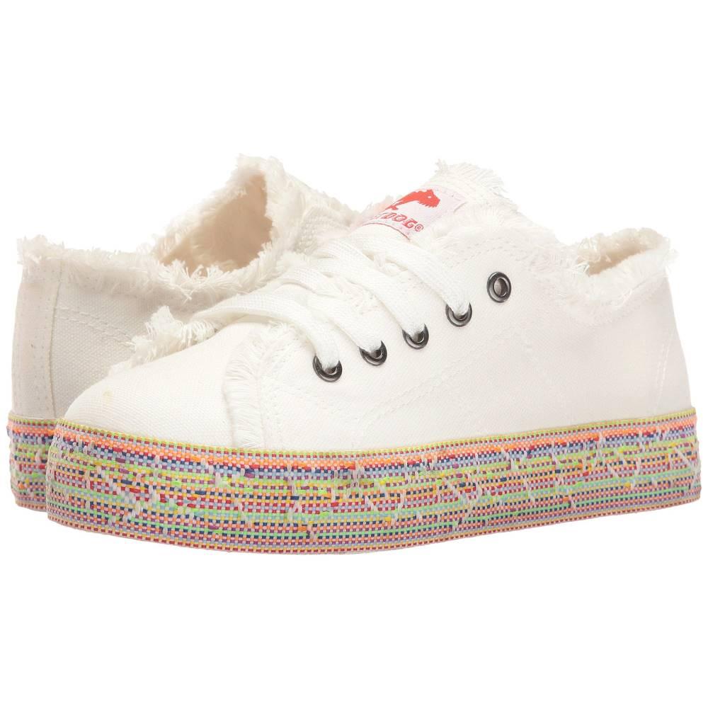 ロケットドッグ レディース シューズ・靴 スニーカー【Madox】White/White Multi 8A Canvas/Rainbow Road