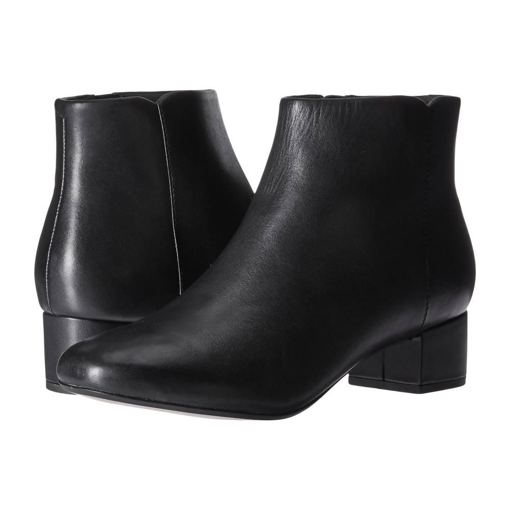 クラークス レディース シューズ・靴 ブーツ【Chartli Lilac】Black Leather