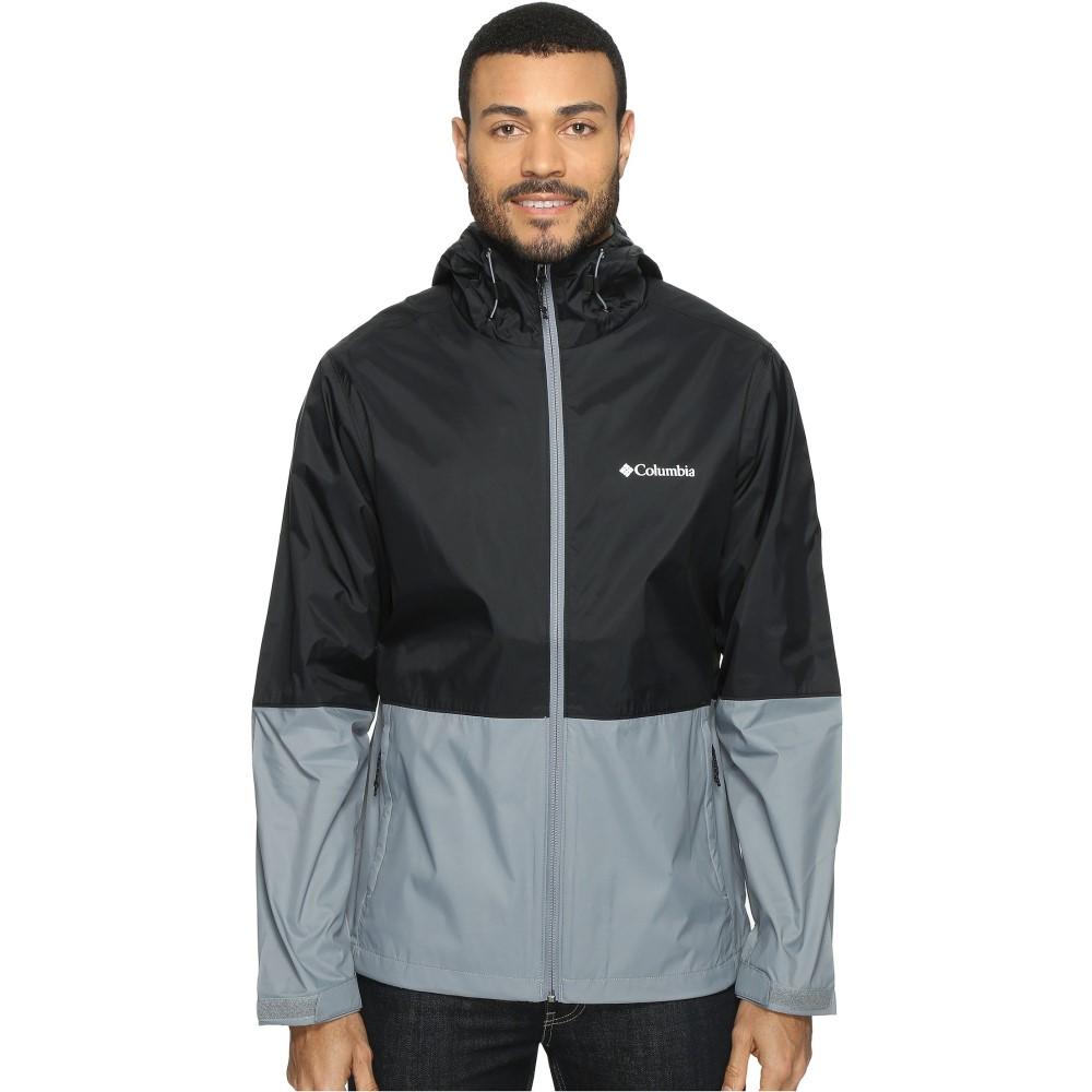 コロンビア メンズ アウター レインコート【Roan Mountain' Jacket】Black/Grey Ash
