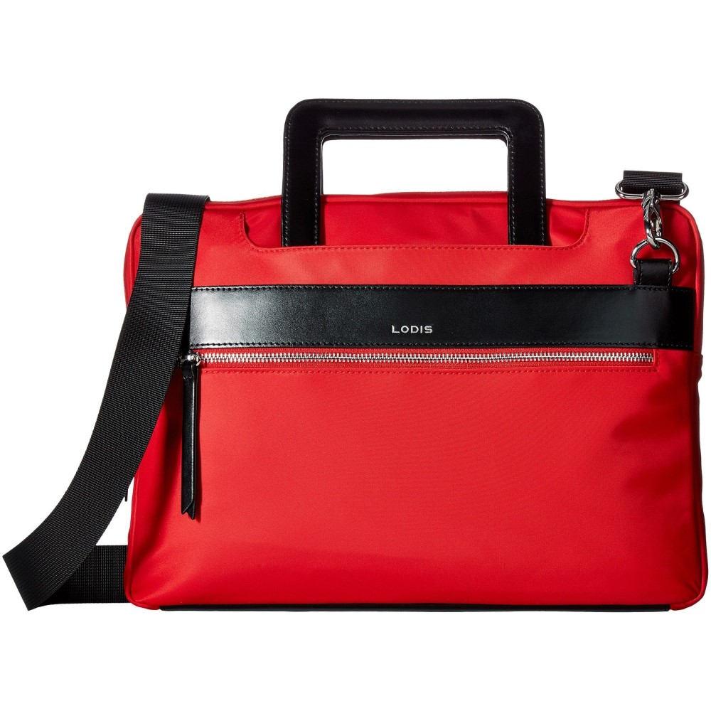 ロディス アクセサリー レディース バッグ パソコンバッグ【Kate Nylon Under Lock & Key Cora Laptop Crossbody】Red