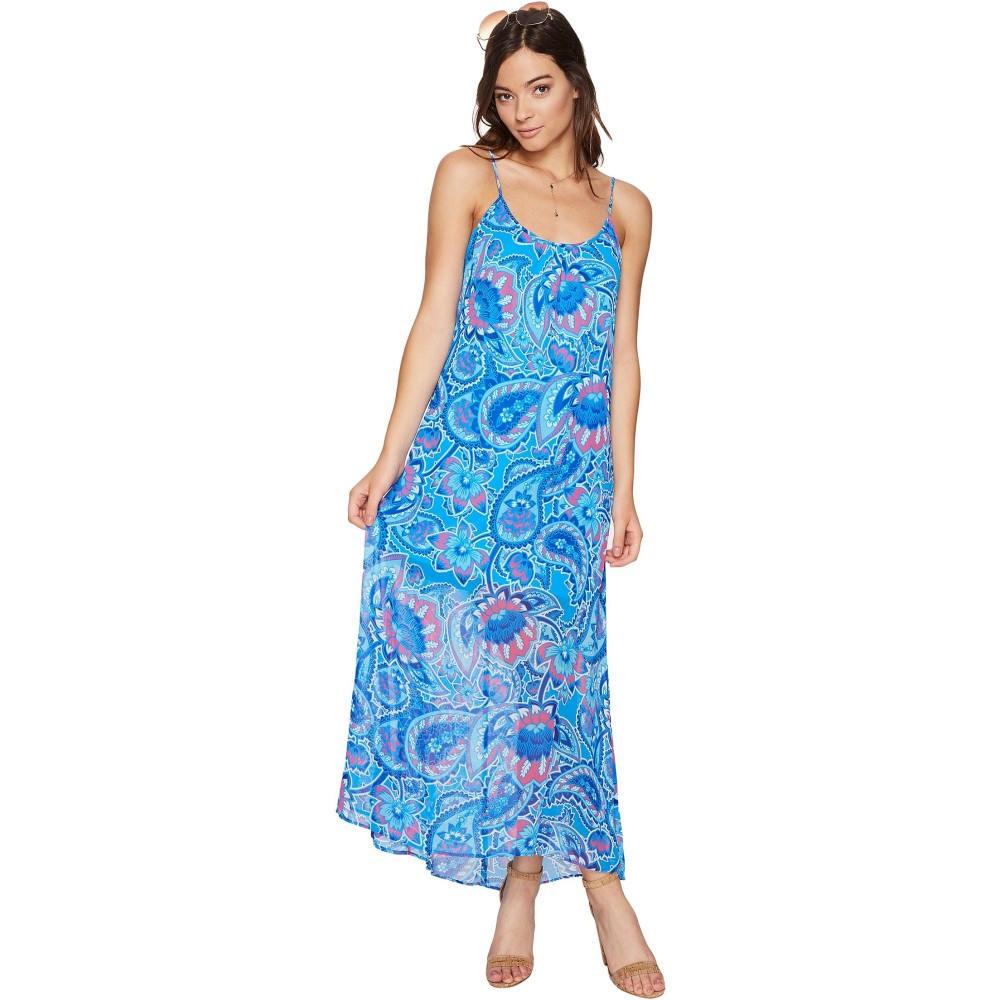 ウミーユアムーム レディース ワンピース・ドレス ワンピース【Turlington Maxi Dress】Blueberry Paisley
