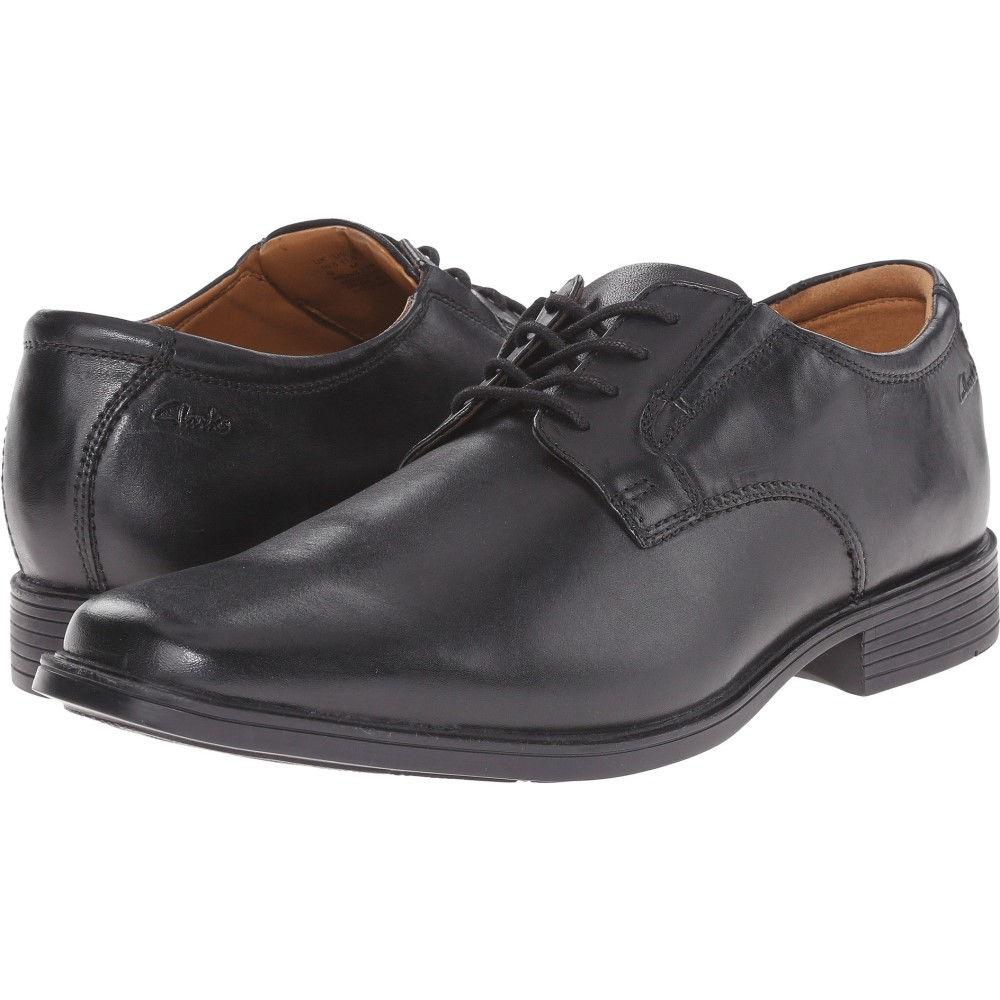 クラークス メンズ シューズ・靴 革靴・ビジネスシューズ【Tilden Plain】Black