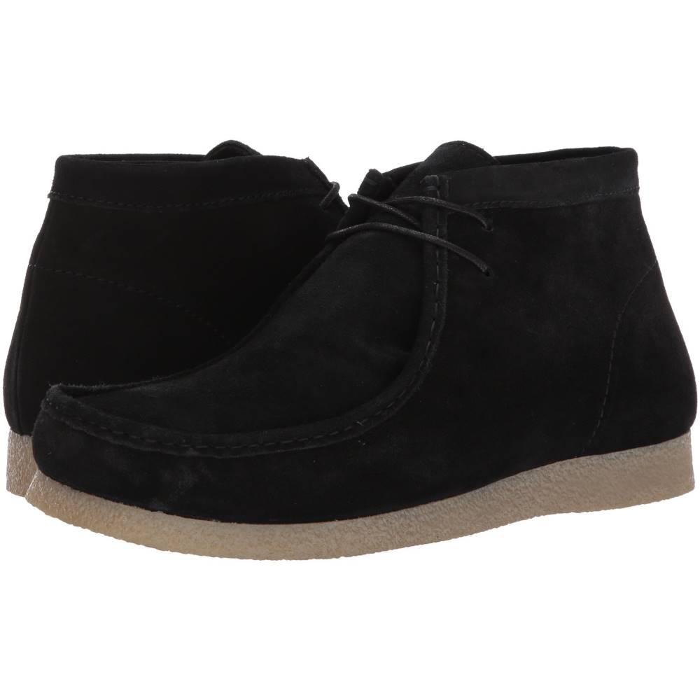 スティーブ マデン メンズ シューズ・靴 ブーツ【Troy】Black Suede
