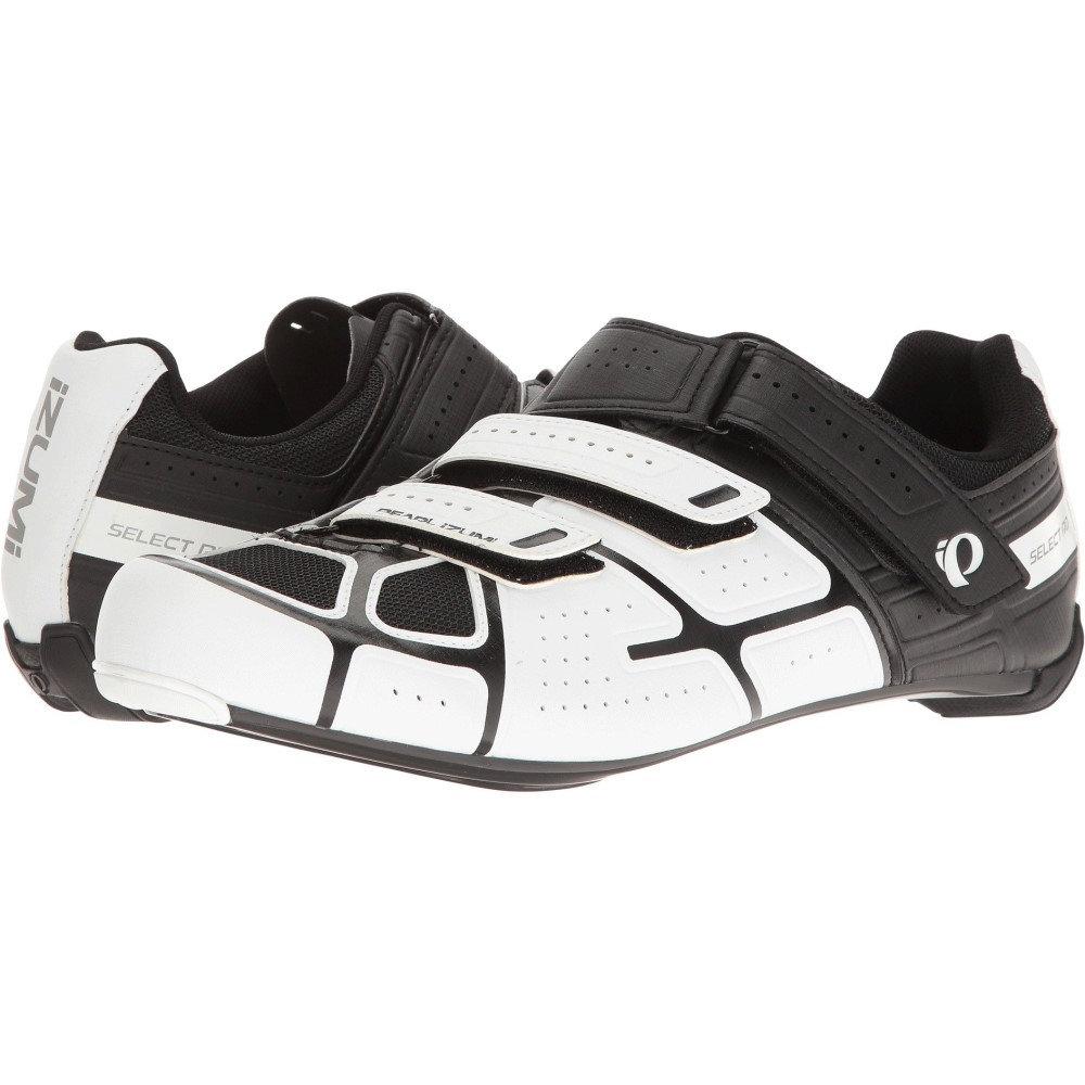 パールイズミ メンズ 自転車 シューズ・靴【Select RD IV】White/Black
