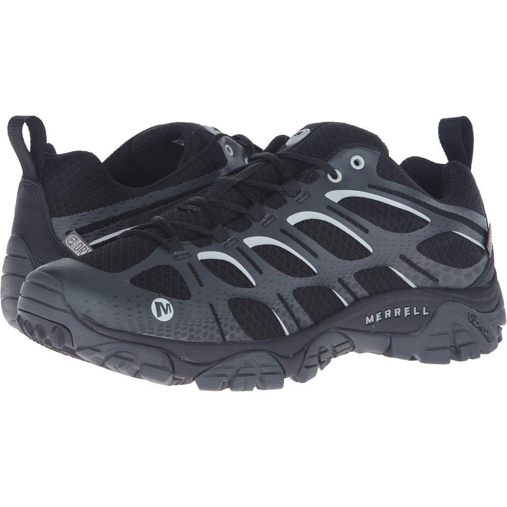 メレル メンズ ハイキング・登山 シューズ・靴【Moab Edge Waterproof】Black