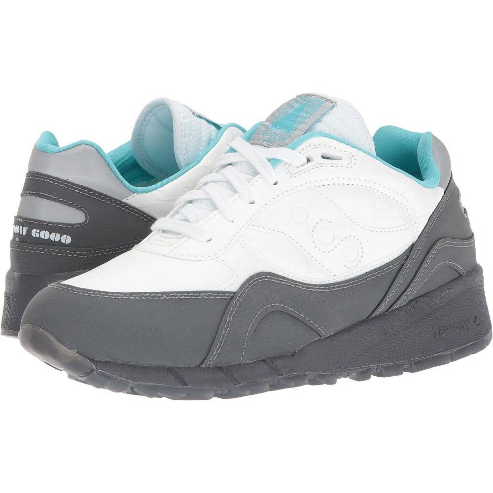 売れ筋商品 サッカニー メンズ サッカニー メンズ ランニング・ウォーキング シューズ 1・靴【Shadow 6000】White/Black 1, CAMBIO:359309df --- mrdc.com.br