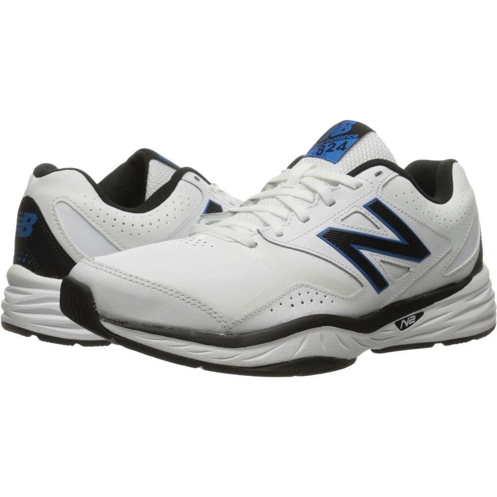 【予約販売品】 ニューバランス メンズ フィットネス ニューバランス・トレーニング シューズ・靴 Blue【MX824v1】White/Placid Blue, サイジョウチョウ:996a1c4e --- canoncity.azurewebsites.net