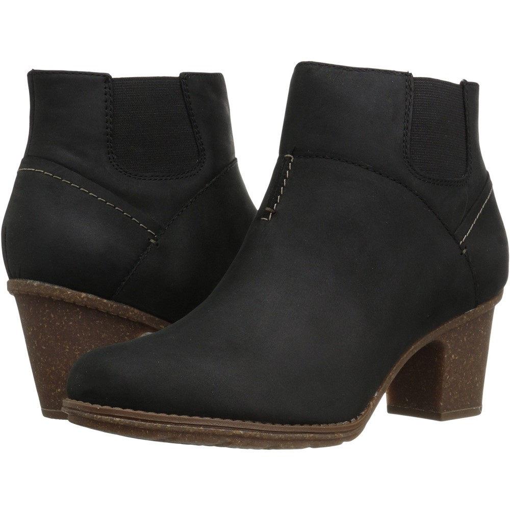 クラークス レディース シューズ・靴 ブーツ【Sashlin Vita】Black Leather