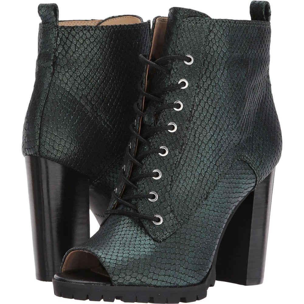 Monica】Forest ペリー レディース シューズ・靴 ブーツ【The ケイティ Emboss Green