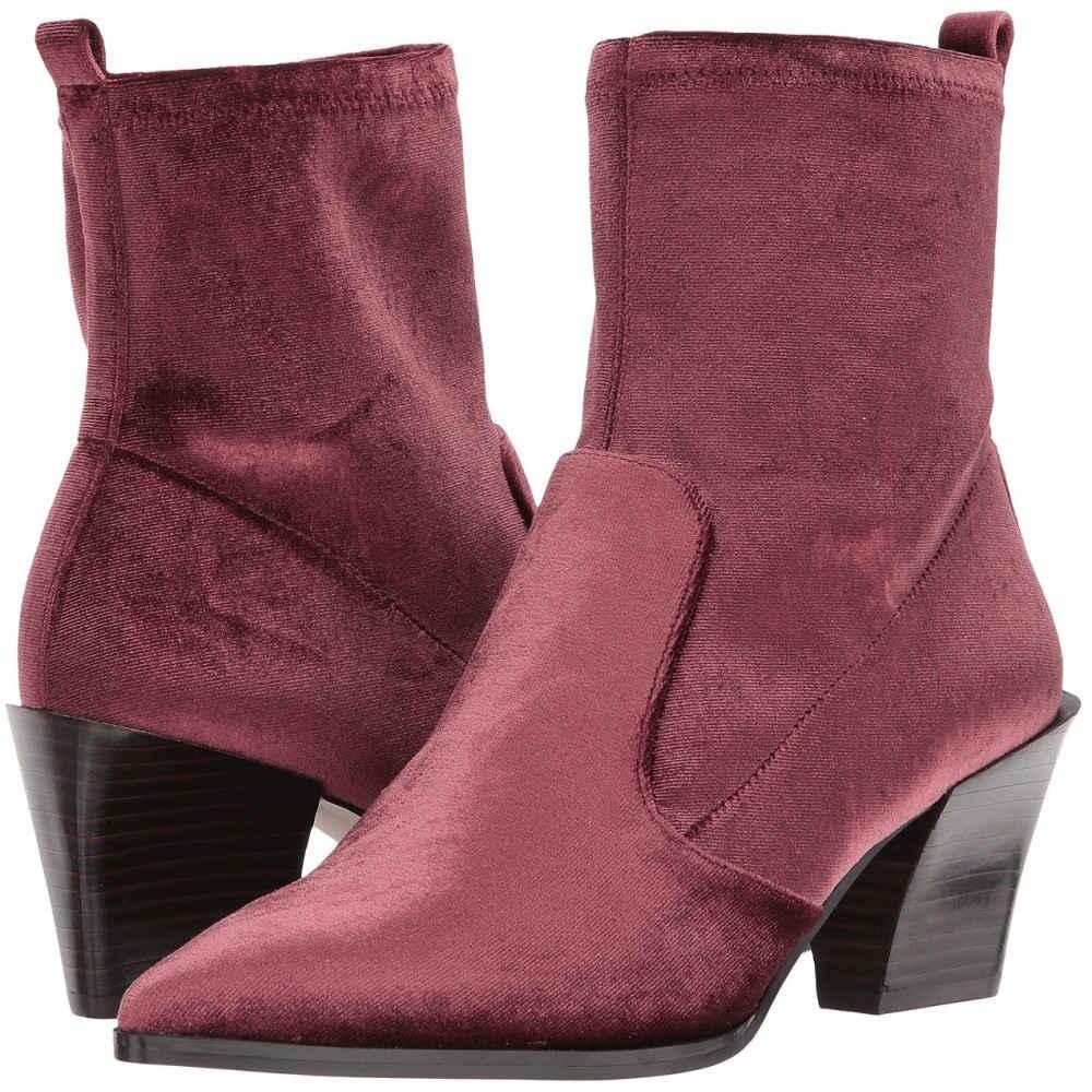 レディース ブーツ【Eshella】Dark ナインウェスト シューズ・靴 Fabric Wine