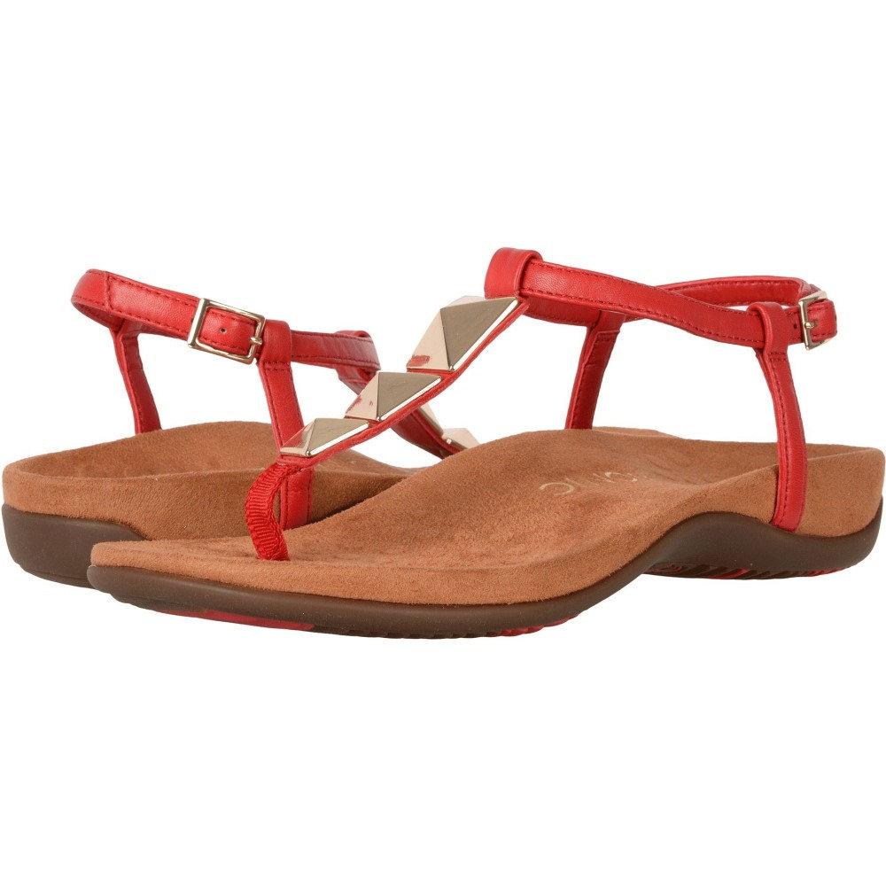バイオニック レディース シューズ・靴 サンダル・ミュール【Nala】High Risk Red/Caramel