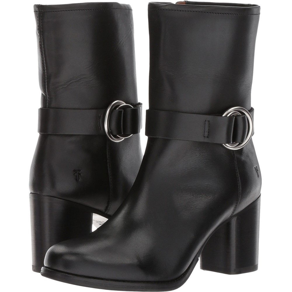 フライ レディース シューズ・靴 ブーツ【Addie Harness Mid】Black