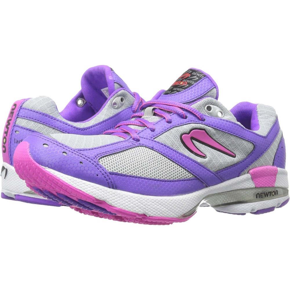 ニュートンランニング レディース ランニング・ウォーキング シューズ・靴【Isaac S】Silver/Purple