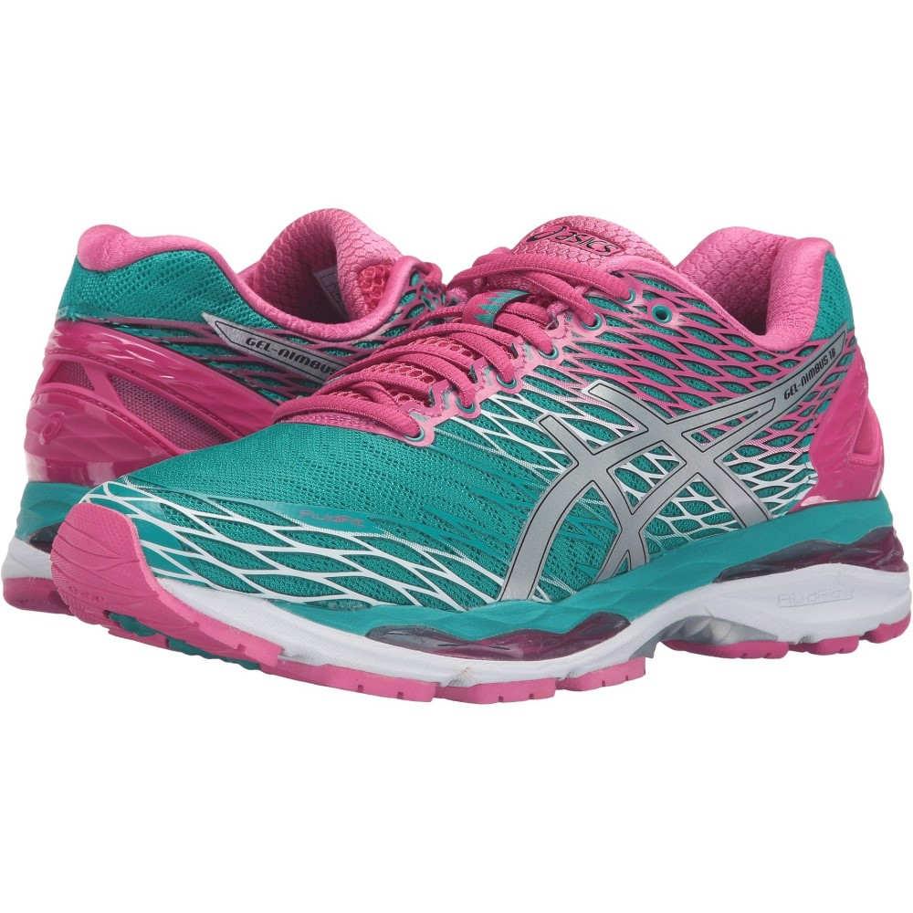 アシックス レディース ランニング・ウォーキング シューズ・靴【Gel-Nimbus 18】Lapis/Silver/Sport Pink