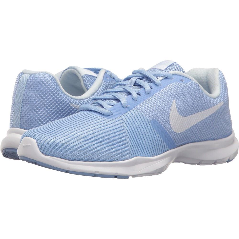 ナイキ レディース フィットネス・トレーニング シューズ・靴【Flex Bijoux】Aluminum/White/Medium Blue/Black