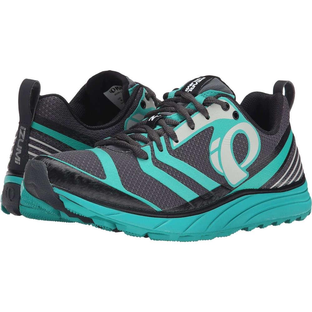 パールイズミ レディース ランニング・ウォーキング シューズ・靴【EM Trail N 2 v2】Shadow Grey/Dynasty Green