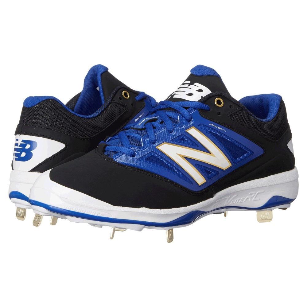 ニューバランス メンズ 野球 シューズ・靴【4040v3 Low】Black/Blue
