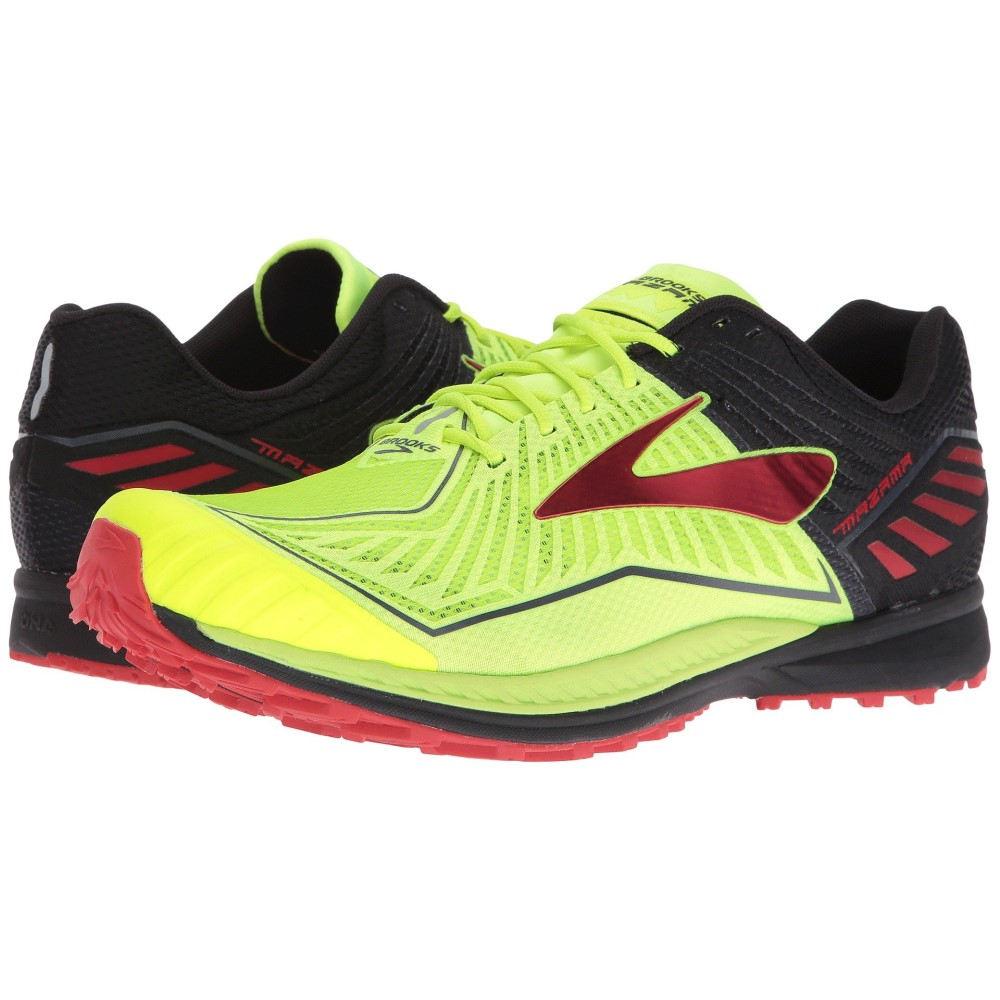(お得な特別割引価格) ブルックス メンズ Red ランニング・ウォーキング シューズ・靴 Risk メンズ【Mazama】Nightlife/Black/High Risk Red, 健康な髪:36a59e4b --- rekishiwales.club