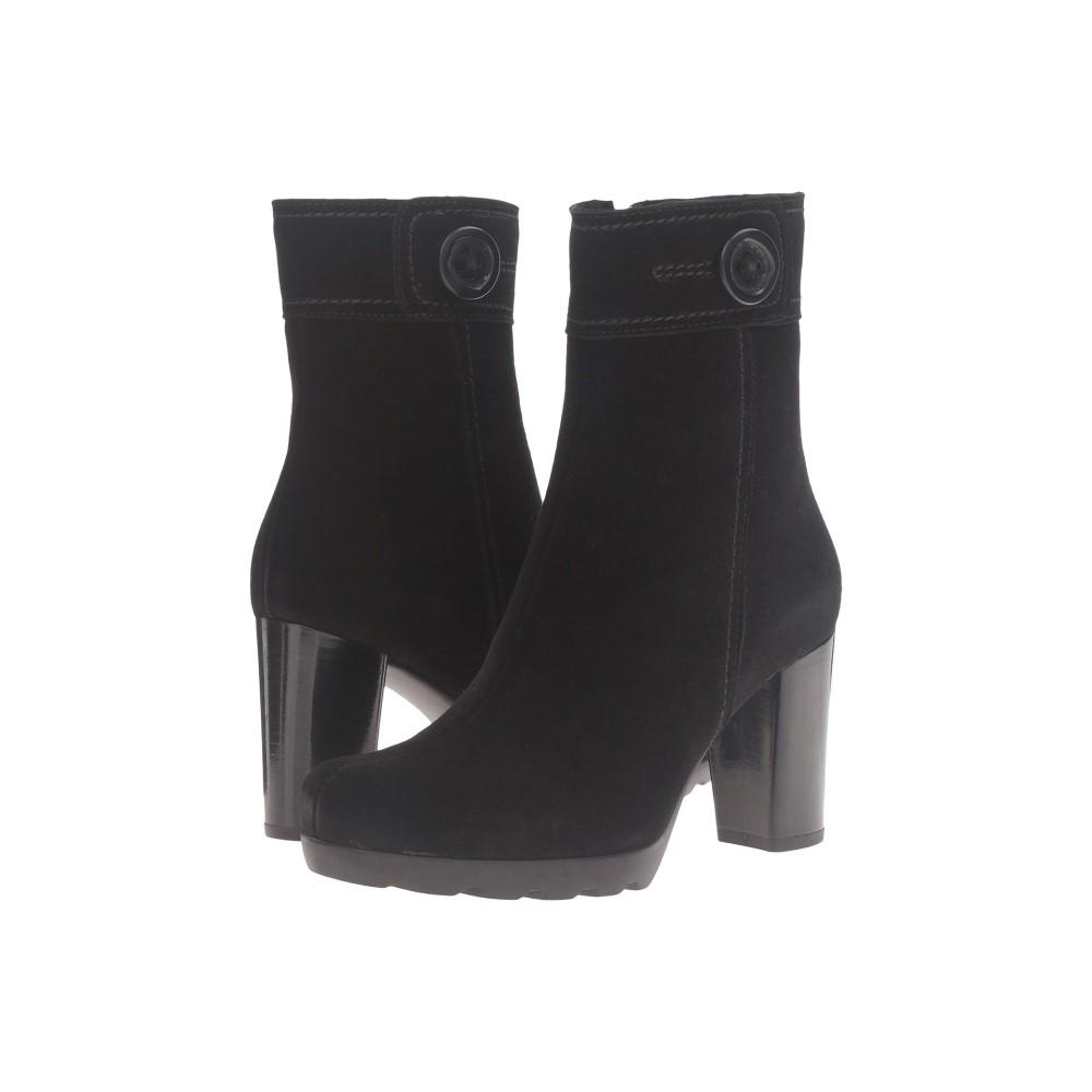 ラ カナディアン レディース シューズ・靴 ブーツ【Maple】Black Suede