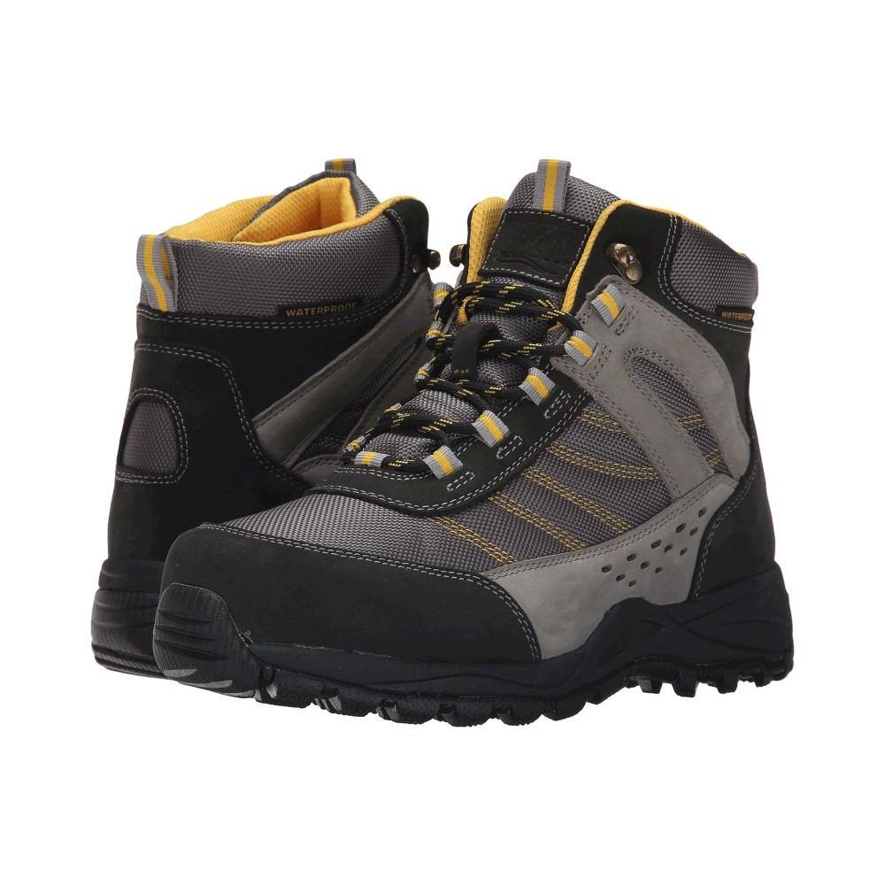 ドリュー レディース ハイキング・登山 シューズ・靴【Glacier Waterproof Boot】Black /Grey NuBuck/Yellow Trim