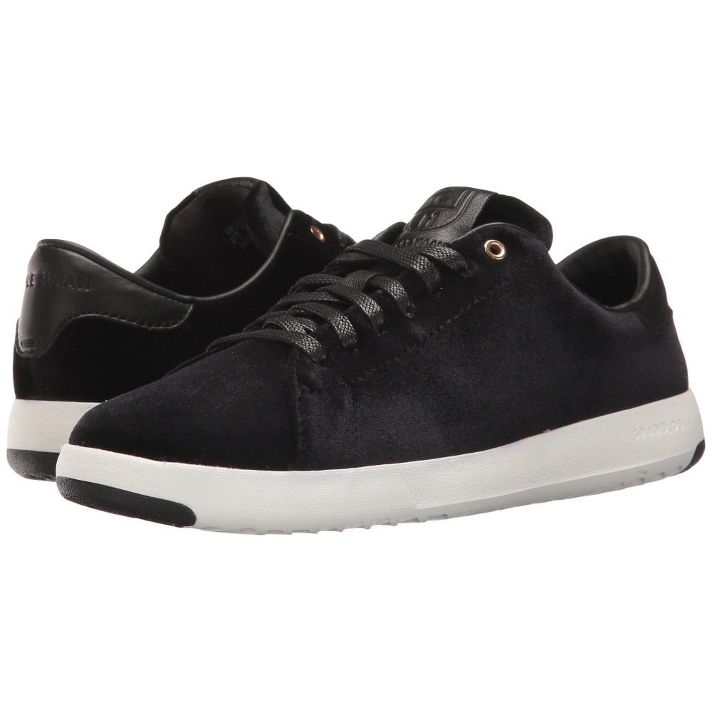 コールハーン レディース テニス シューズ・靴【Grandpro Tennis】Black Velvet