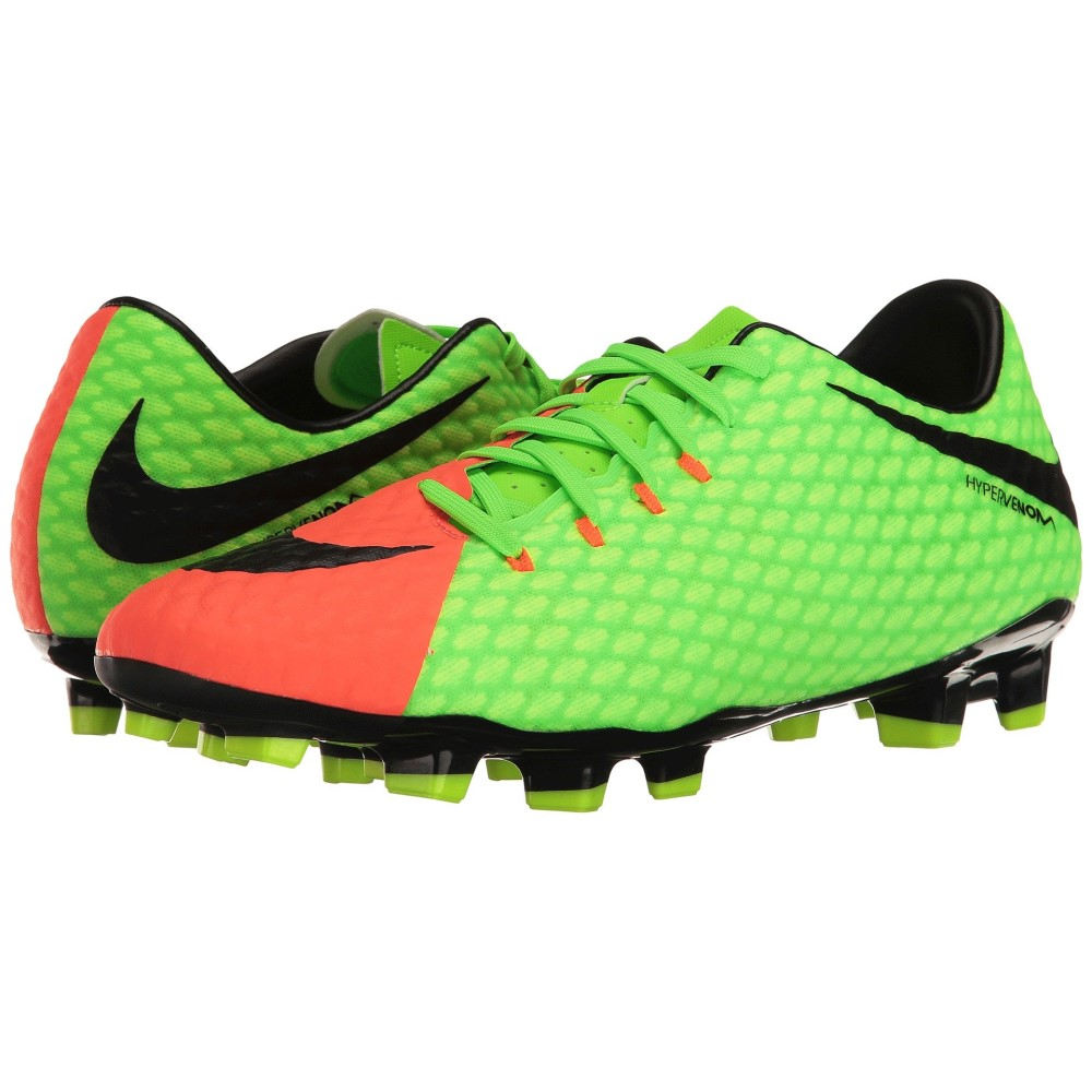 特別価格 ナイキ メンズ サッカー シューズ サッカー・靴 III メンズ【Hypervenom Phelon III FG】Electric Green/Black/Hyper Orange/Volt, 端野町:1562d324 --- supercanaltv.zonalivresh.dominiotemporario.com