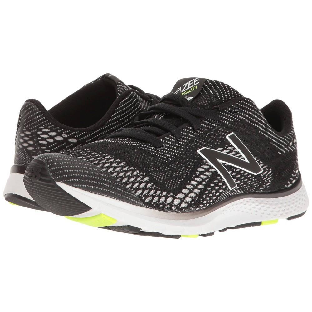 ニューバランス レディース フィットネス・トレーニング シューズ・靴【Vazee Agility】Black/Lime Glo