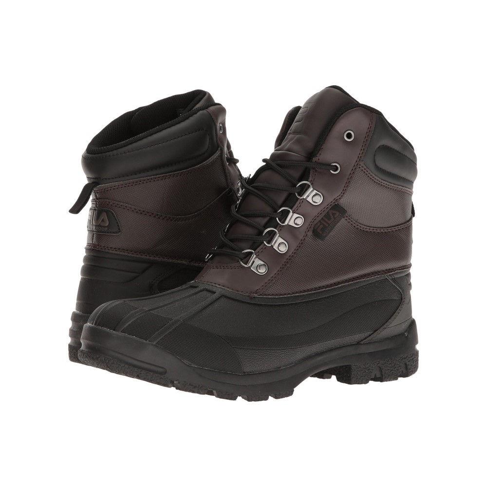 フィラ メンズ ハイキング・登山 シューズ・靴【WeatherTech Extreme】Espresso/Black/Dark Silver