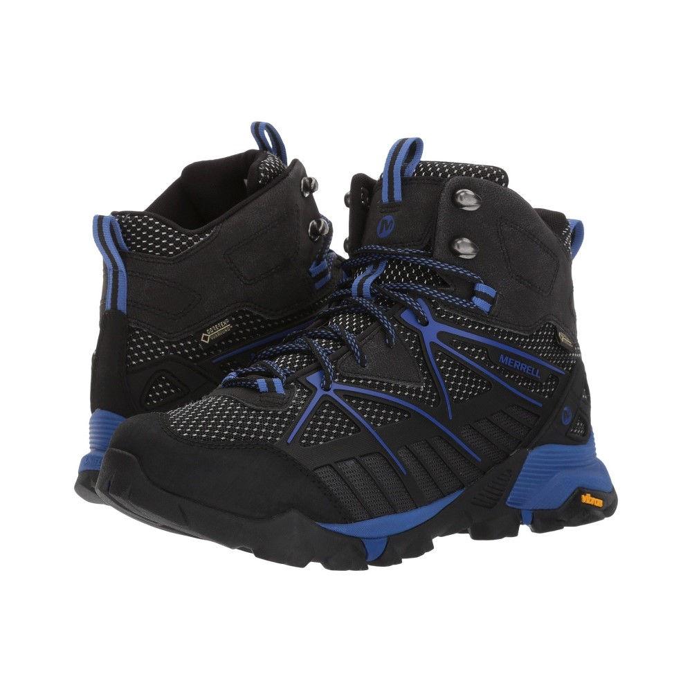 メレル レディース ハイキング・登山 シューズ・靴【Capra Venture Mid Gore-Tex Surround】Black