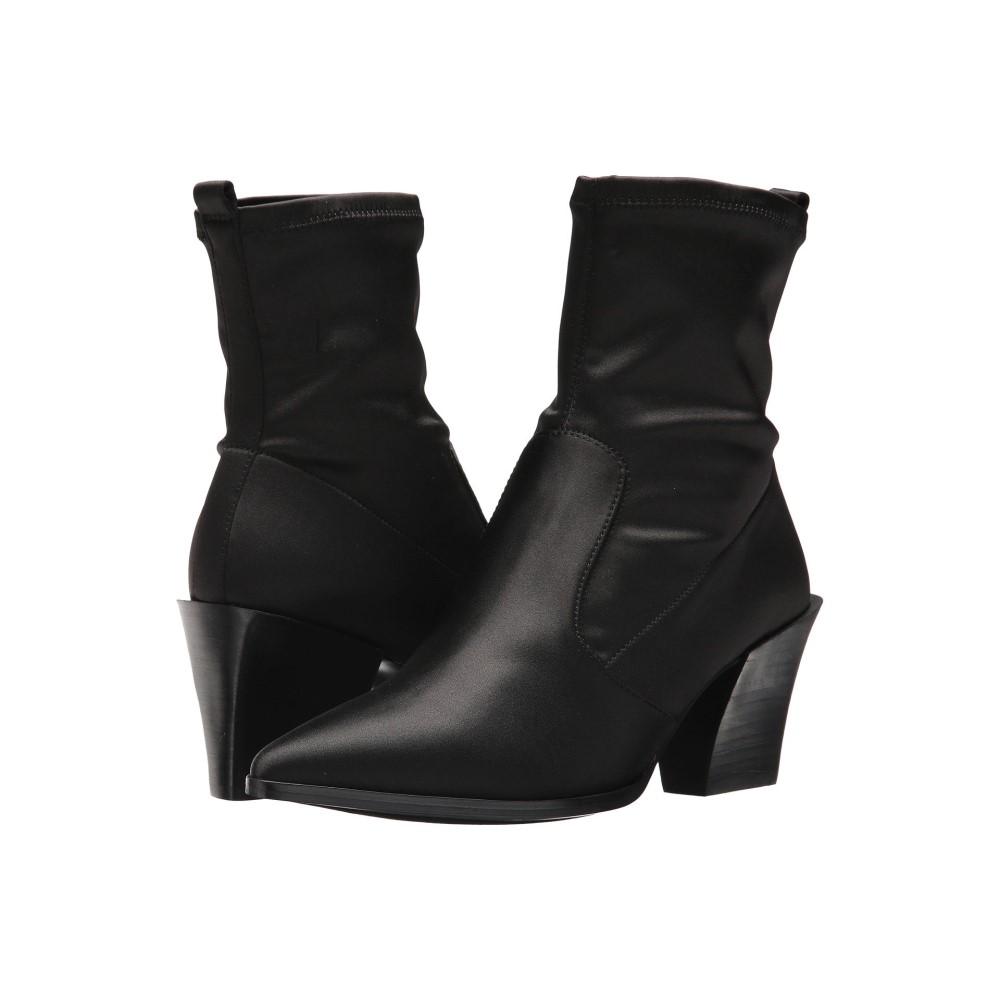 ナインウェスト レディース シューズ・靴 ブーツ【Eshella】Black Satin