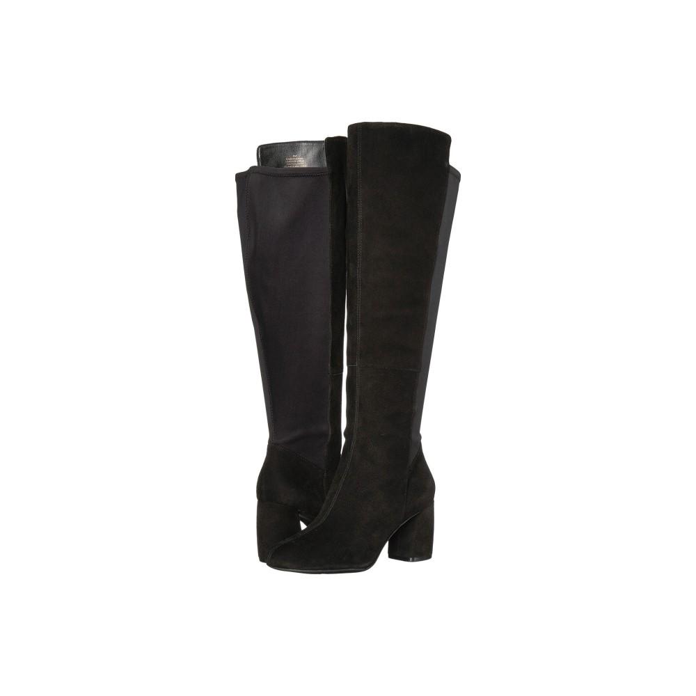 ナインウェスト レディース シューズ・靴 ブーツ【Kerianna-Wide Shaft】Black/Black
