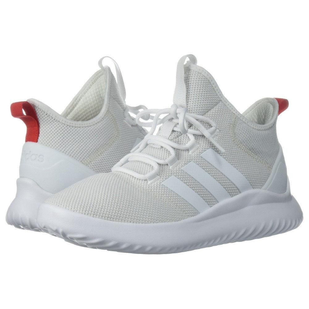 アディダス メンズ バスケットボール シューズ・靴【Cloudfoam Ultimate Basketball】White/White/Red