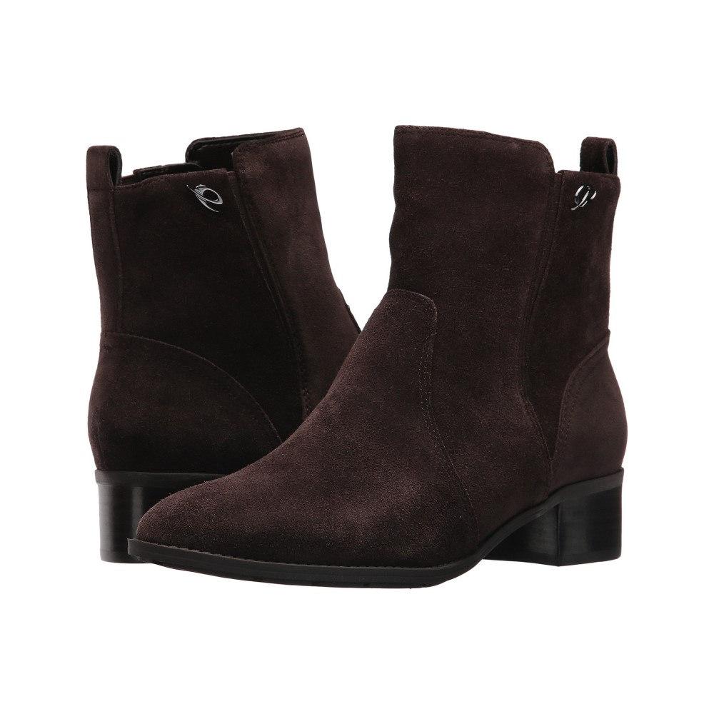 レディース Brown シューズ・靴 イージー スピリット ブーツ【Sylva】Dark