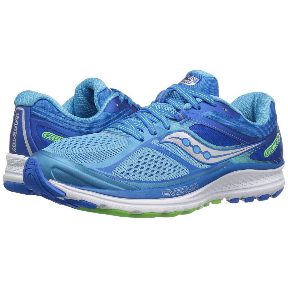 サッカニー レディース ランニング・ウォーキング シューズ・靴【Guide 10】Light Blue/Blue