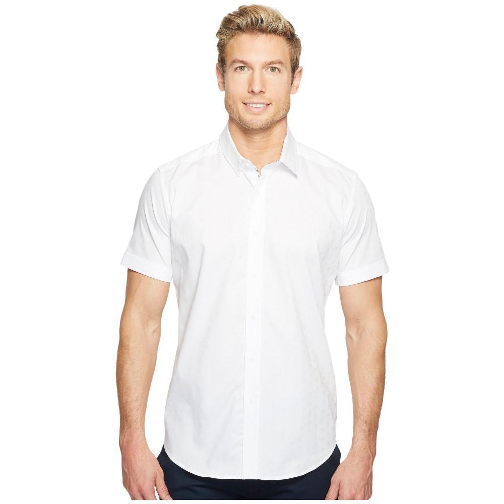 ロバートグラハム メンズ トップス 半袖シャツ【Modern Americana Deven Short Sleeve Woven Shirt】White