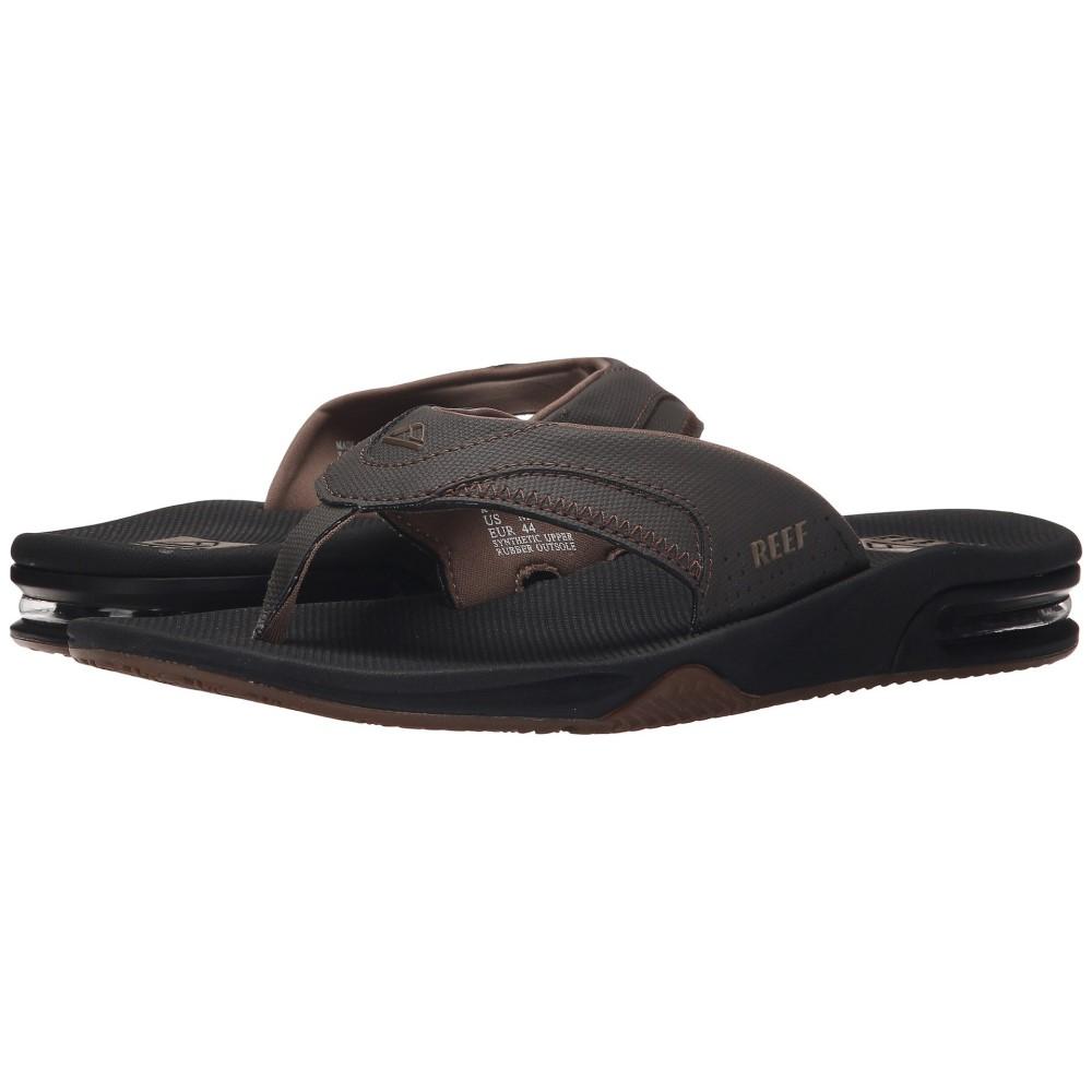 リーフ メンズ シューズ・靴 サンダル【Fanning】Vintage Brown 2