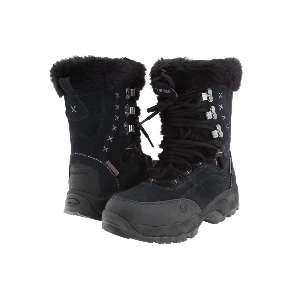 ハイテック レディース シューズ・靴 ブーツ【St. Moritz 200 WP】Black/Clover